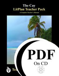 The Cay LitPlan Lesson Plans (PDF on CD)