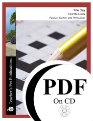 The Cay Puzzle Pack Worksheets, Activities, Games (PDF on CD)