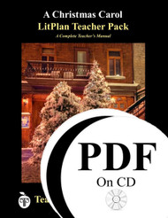 A Christmas Carol LitPlan Lesson Plans (PDF on CD)