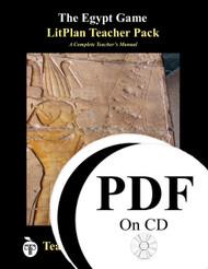 The Egypt Game LitPlan Lesson Plans (PDF on CD)