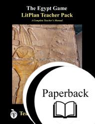 The Egypt Game LitPlan Lesson Plans (Paperback)