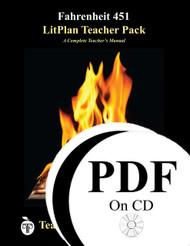 Fahrenheit 451 LitPlan Lesson Plans (PDF on CD)