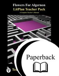 Flowers For Algernon LitPlan Lesson Plans (Paperback)