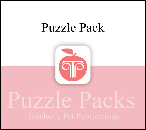 Flowers for Algernon Puzzles Worksheets Games | Puzzle Pack (CD Case)