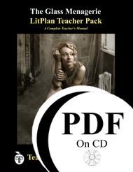 The Glass Menagerie LitPlan Lesson Plans (PDF on CD)