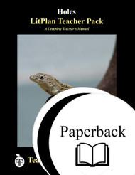 Holes LitPlan Lesson Plans (Paperback)