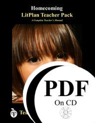 Homecoming LitPlan Lesson Plans (PDF on CD)
