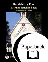 The Adventures of Huckleberry Finn LitPlan Lesson Plans (Paperback)
