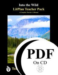 Into the Wild LitPlan Lesson Plans (PDF on CD)