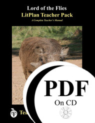 Lord of the Flies LitPlan Lesson Plans (PDF on CD)