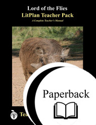 Lord of the Flies LitPlan Lesson Plans (Paperback)