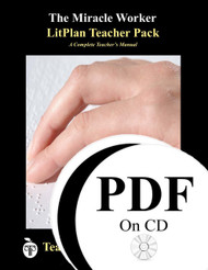 The Miracle Worker LitPlan Lesson Plans (PDF on CD)