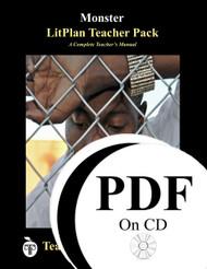 Monster LitPlan Lesson Plans (PDF on CD)