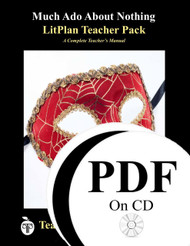 Much Ado About Nothing LitPlan Lesson Plans (PDF on CD)