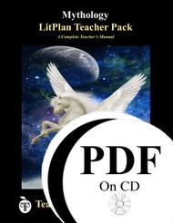 Mythology LitPlan Lesson Plans (PDF on CD)