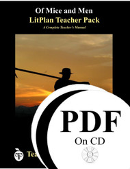 Of Mice and Men LitPlan Lesson Plans (PDF on CD)