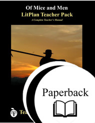 Of Mice and Men LitPlan Lesson Plans (Paperback)
