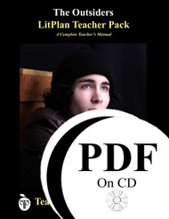 The Outsiders LitPlan Lesson Plans (PDF on CD)