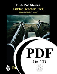 Poe Stories LitPlan Lesson Plans (PDF on CD)