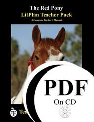 The Red Pony LitPlan Lesson Plans (PDF on CD)