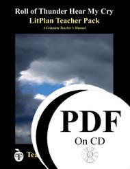 Roll of Thunder Hear My Cry LitPlan Lesson Plans (PDF on CD)