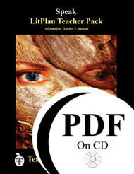 Speak LitPlan Lesson Plans (PDF on CD)