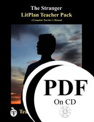 The Stranger LitPlan Lesson Plans (PDF on CD)