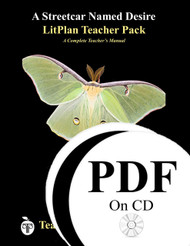 A Streetcar Named Desire LitPlan Lesson Plans (PDF on CD)