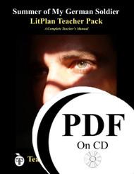 Summer of My German Soldier LitPlan Lesson Plans (PDF on CD)