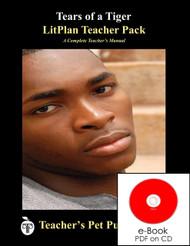 Tears of a Tiger Lesson Plans | LitPlan Teacher Pack on CD