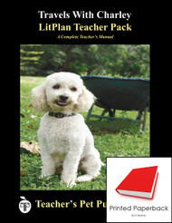 Travels With Charley LitPlan Lesson Plans (Paperback)