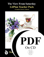 The View From Saturday LitPlan Lesson Plans (PDF on CD)