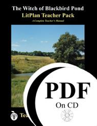 The Witch of Blackbird Pond LitPlan Lesson Plans (PDF on CD)