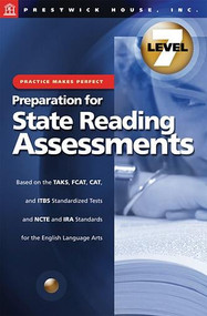 Practice Makes Perfect Prep For State Reading Assessments Grade 7