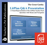 The Great Gatsby Study Questions on Presentation Slides | Q&A Presentation