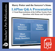 Harry Potter and the Sorcerer's Stone Study Questions on Presentation Slides | Q&A Presentation