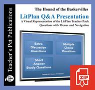 Hound of the Baskervilles Study Questions on Presentation Slides | Q&A Presentation