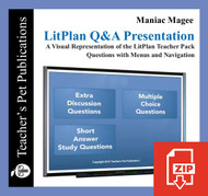 Maniac Magee Study Questions on Presentation Slides | Q&A Presentation