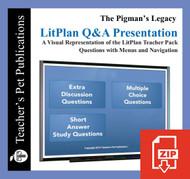 The Pigman's Legacy Study Questions on Presentation Slides | Q&A Presentation