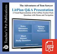 Tom Sawyer Study Questions on Presentation Slides   Q&A Presentation