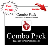 Izzy Willy-Nilly Lesson Plans Combo Pack