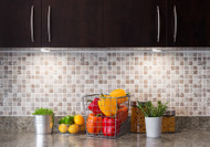 Glass Subway Tiles: How to Make a Little Kitchen Feel Bigger