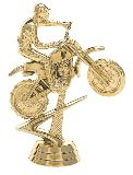 trophy with a gold dirtbike racer figure
