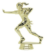 womens football trophy topper