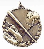 Baseball Millennium Medal