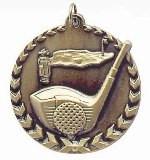 Golf Millennium Medal