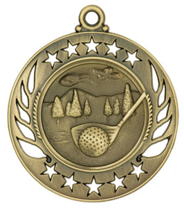 Golf Galaxy Medal