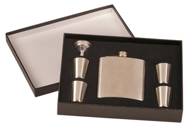 Stainless Steel Flask w/ Box