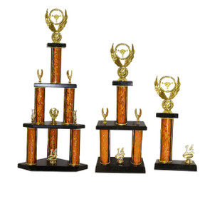 """SQUATTY DELUXE"" TROPHY SET"