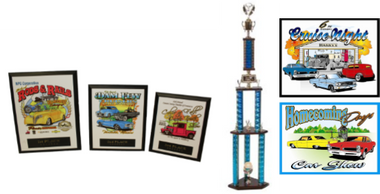 CAR SHOW PLAQUE BUNDLE 4